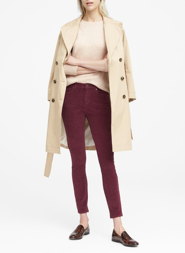 Banana Republic Pantolon Bordo